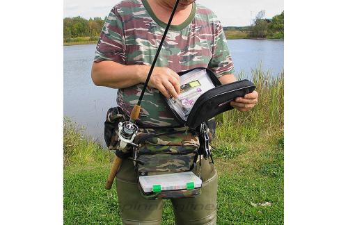 IdeaFisher - Поясная сумка+2 стакана Stakan-8 черный - фотография пользователя