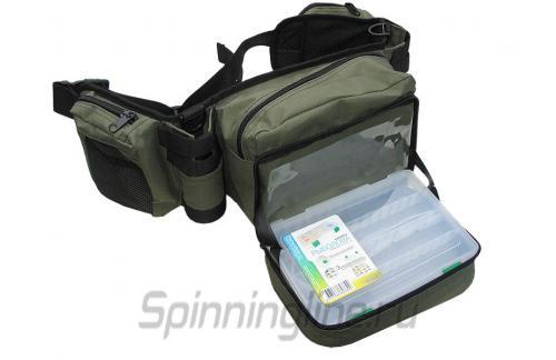 Поясная сумка+2 стакана Stakan-8 олива - фотография загружена пользователем 1