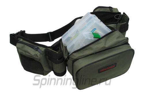 Поясная сумка+2 стакана Stakan-8 олива - фотография загружена пользователем 2