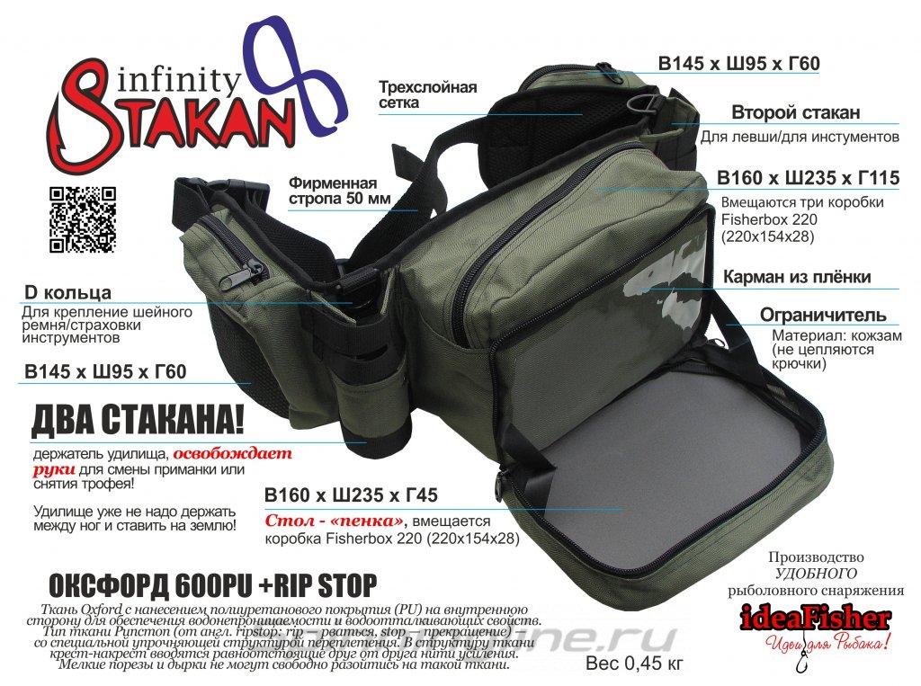 Поясная сумка+2 стакана Stakan-8 олива - фотография загружена пользователем 5
