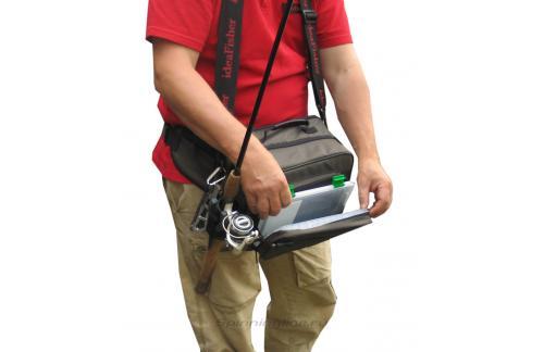 IdeaFisher - Cумка с держателем удилища Stakan Коробасс - фотография пользователя