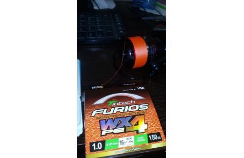Шнур Furios PE WX4 150м 1.0 - фотография загружена пользователем 1