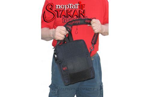 Поясная сумка с держателем удилища Stakan Портатиф правша черный - фотография загружена пользователем 3