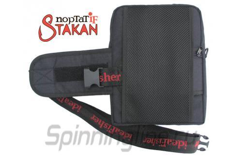 Поясная сумка с держателем удилища Stakan Портатиф правша черный - фотография загружена пользователем 5