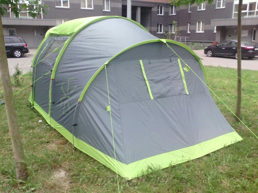 Палатка туристическая Norfin ASP 4 Alu NF - фотография загружена пользователем 1