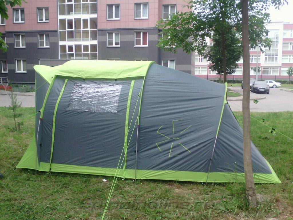 Палатка туристическая Norfin ASP 4 Alu NF - фотография загружена пользователем 3