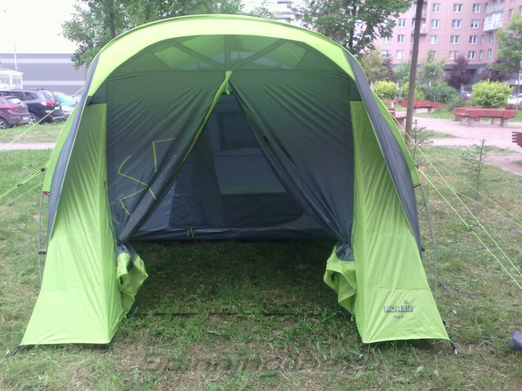 Палатка туристическая Norfin ASP 4 Alu NF - фотография загружена пользователем 4