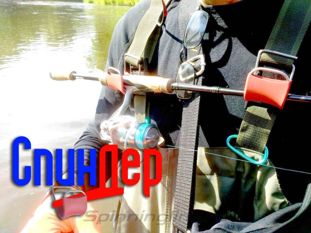Держатели для удилища на вейдерсы IdeaFisher СпинДер - фотография загружена пользователем 3