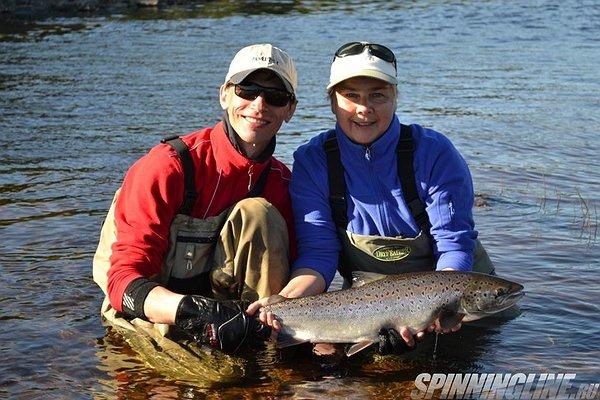 Рыбалка на реке Асача с морской рыбалкой