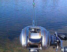 'The first baitcasting reel'
