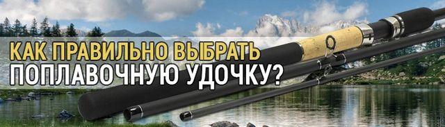 Изображение 1 : Как правильно выбрать поплавочную удочку?